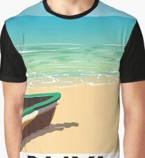 Rhyl Denbighshire Wales beach poster Graphic T-Shirt