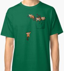 Pocket Red Panda Bears Classic T-Shirt