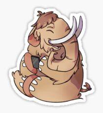 Mastodon social Sticker