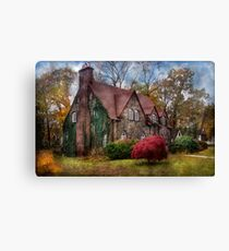 My little mansion Canvas Print
