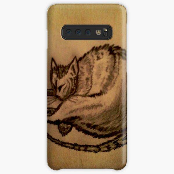 THE SLEEPING CAT  Samsung Galaxy Snap Case