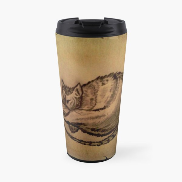 THE SLEEPING CAT  Travel Mug