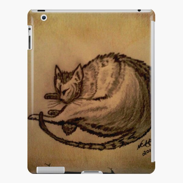 THE SLEEPING CAT  iPad Snap Case