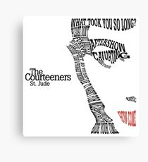 The Courteeners St. Jude Canvas Print