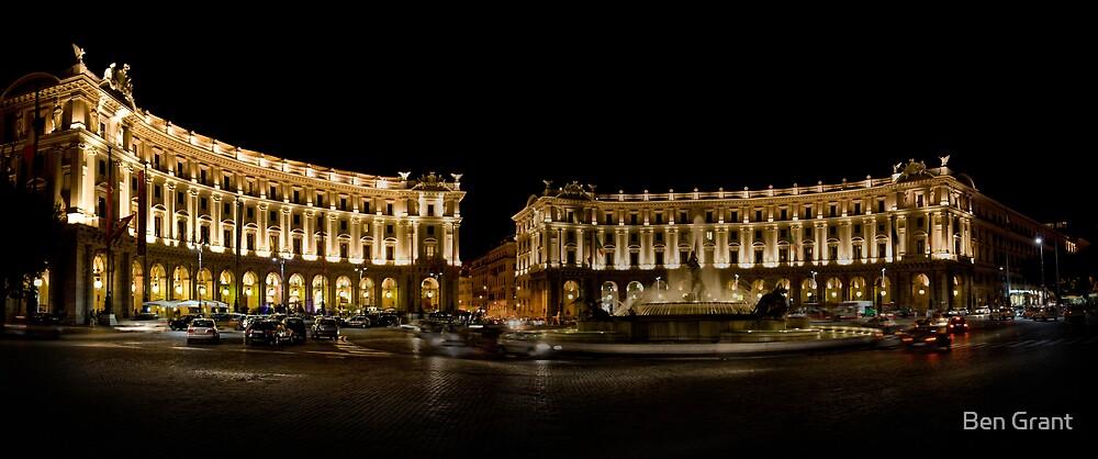 Piazza Della Repubblica by Ben Grant