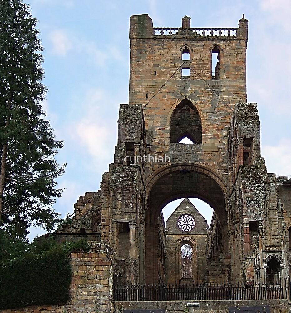 jedburgh abbey by cynthiab