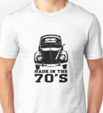 VW Beetle Made in the 70's Unisex T-Shirt