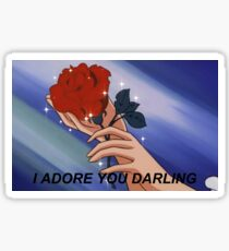 I ADORE YOU DARLING Sticker
