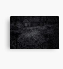 Abounded House By The Creek   Sands Point, New York Canvas Print