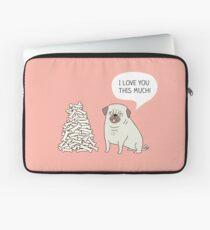 pug's love Laptop Sleeve