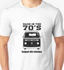 Vw Camper Made in the 70's Unisex T-Shirt