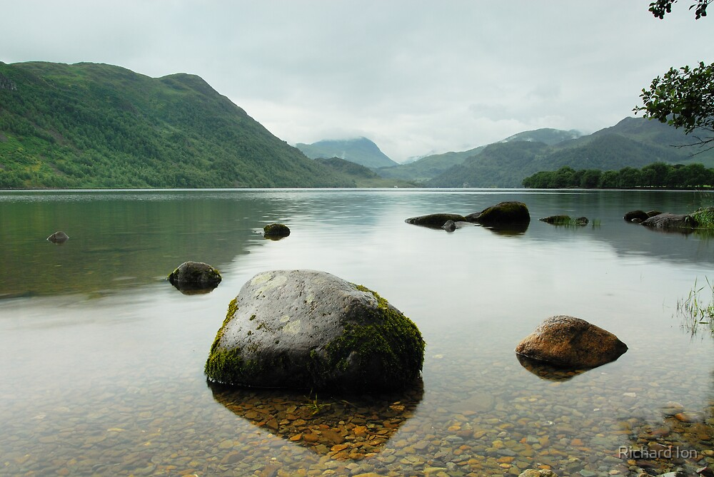 Ullswater in colour by Richard Ion