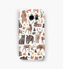 Woodland Animals Samsung Galaxy Case/Skin