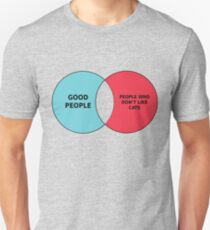 Cat People Ven Diagram Unisex T-Shirt
