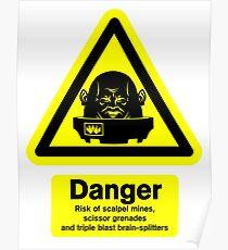 Sontaran Danger! Poster