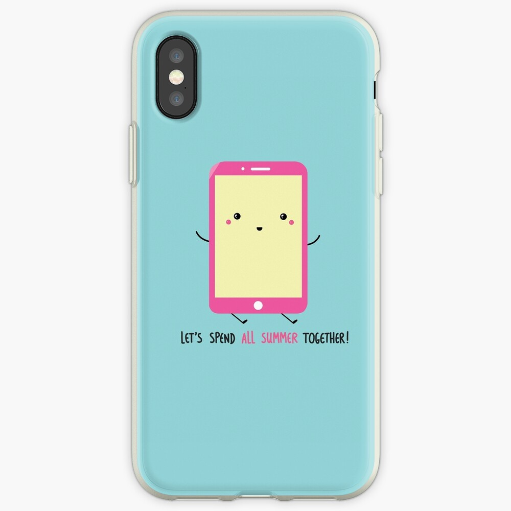 let's spend all summer together iPhone Case & Cover