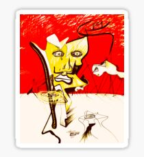 Dali Sketch Sticker