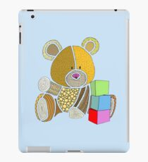 Teddy Bear blocks iPad Case/Skin