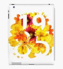 Flower 1985 iPad Case/Skin