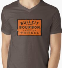 Bulleit Bourbon Men's V-Neck T-Shirt