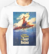 The Thief of Bagdad classic 1920's poster Unisex T-Shirt