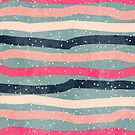 Striped Colorful Pattern by Olga Altunina
