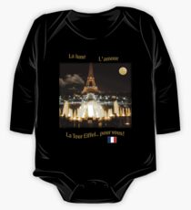 Eiffel Tower at Night One Piece - Long Sleeve