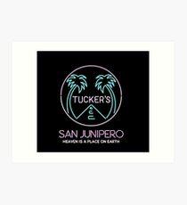 Tucker's Bar / San Junipero Art Print