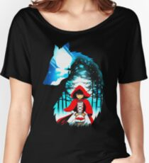 Red Hood Wolf Women's Relaxed Fit T-Shirt