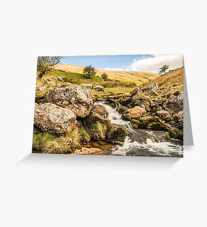 The Black Mountain on Brecon Becons, Wales Greeting Card