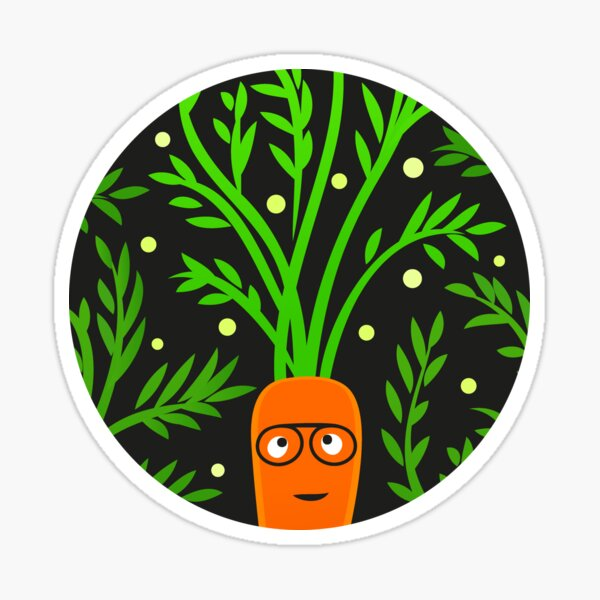 Reggae Veggie Sticker