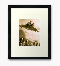 The Thief of Bagdad flying carpet from the 1920s film Framed Print