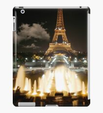 Eiffel Tower at Night iPad Case/Skin