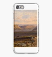 George Arthur Fripp () Loch Muick, distant view of the east end dated 1860 iPhone Case/Skin