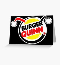Burger Quinn Greeting Card