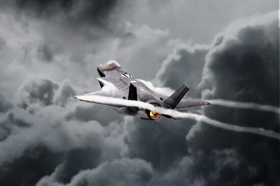 F-35 Bänder von Airpower Art