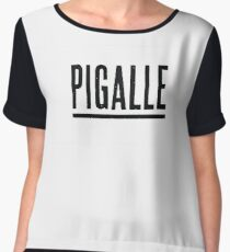 Pigalle Women's Chiffon Top