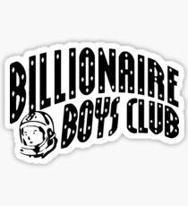 billionaire boys club - funny Sticker