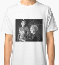 The Mad Scientist Rotting and the False Maria Robot from Metropolis Classic T-Shirt