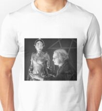 The Mad Scientist Rotting and the False Maria Robot from Metropolis Unisex T-Shirt