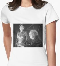 The Mad Scientist Rotting and the False Maria Robot from Metropolis T-Shirt