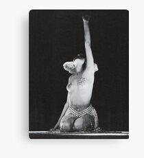 Maria from Fritz Lang's Metropolis Canvas Print