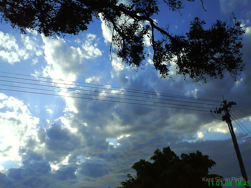 Blue sky's two by Kent Simon Perils