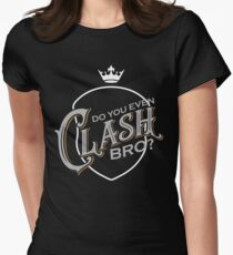 Clash Bro Womens Fitted T-Shirt