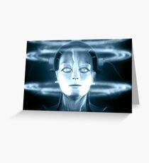 The Android Maria from Fritz Lang's Metropolis Greeting Card