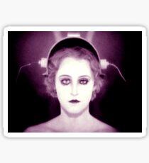 Maria from Fritz Lang's Metropolis Sticker