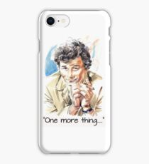 """""""One more thing....."""" iPhone Case/Skin"""