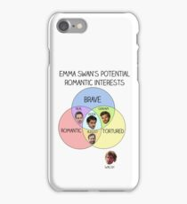 Emma Swan Love Interests iPhone Case/Skin