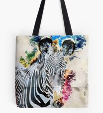Grevys Zebra, Equus gevyi, Photographed at Samburu National Reserve, Kenya Tote Bag