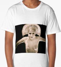 Dancing Maria from Fritz Lang's Metropolis 1920s Long T-Shirt
